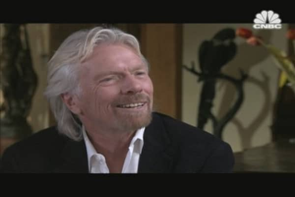 CNBC Meets Sir Richard Branson