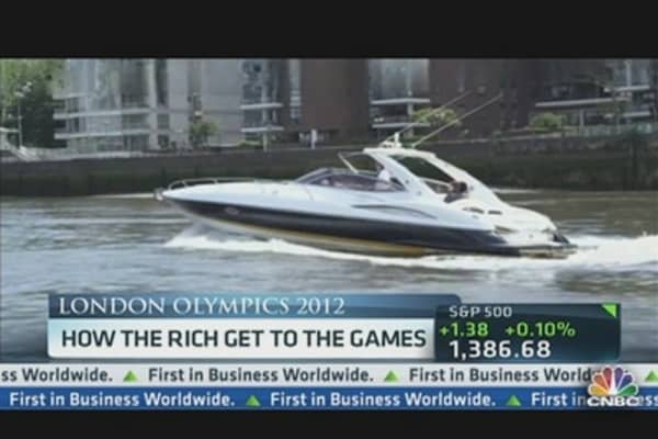 How the Rich Get to the Games