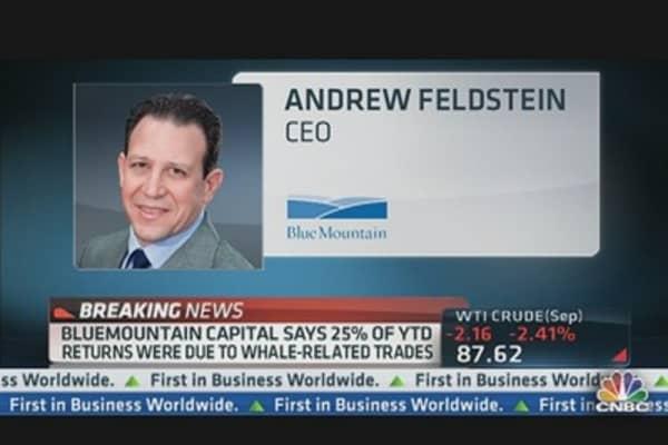 Breaking News: BlueMountain on JPMorgan 'Whale' Trade