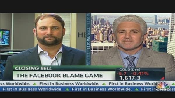 The Facebook Blame Game