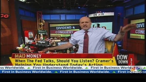 Cramer Translates What the Fed Said