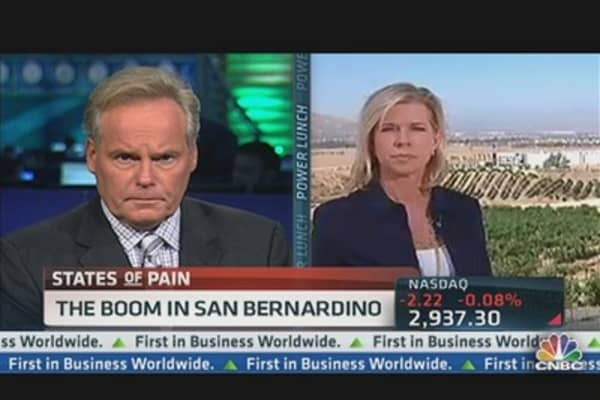 The Boom in San Bernardino