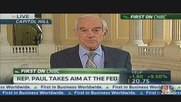 Rep. Paul Takes Aim at the Fed