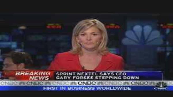 Sprint CEO Steps Down