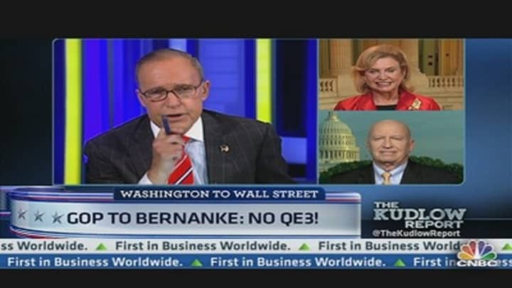 Gop To Bernanke No Qe3