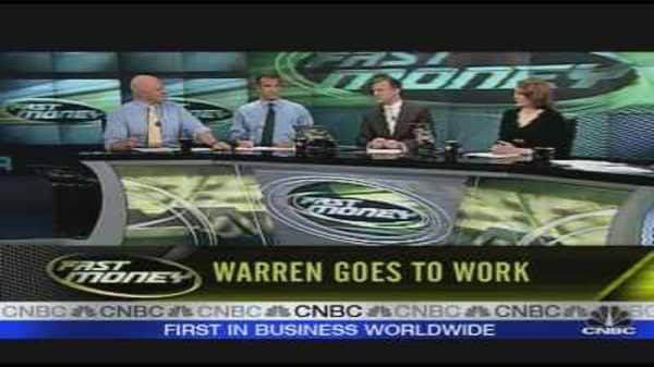 Warren Goes To Work