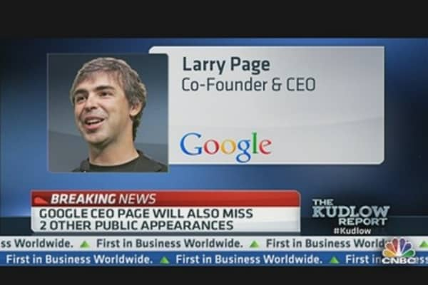 Breaking News: Google CEO Assures Staff of His Health