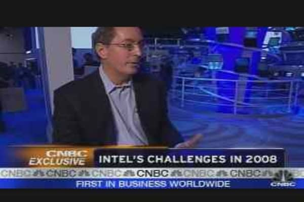 Intel CEO on '08 Challenges