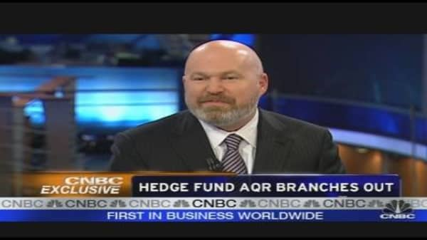 Hedge Fund AQR Branches Out
