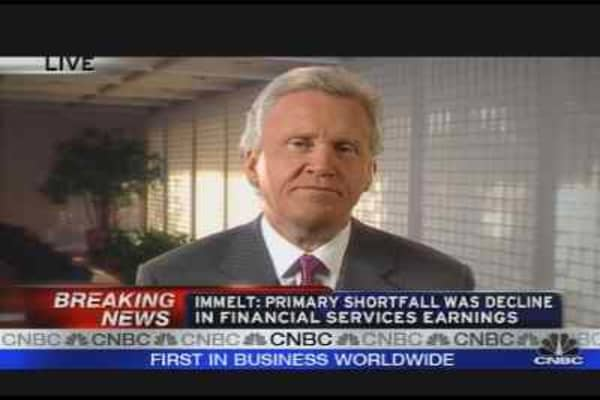 Immelt on GE Earnings