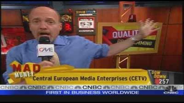 Cramer on CETV