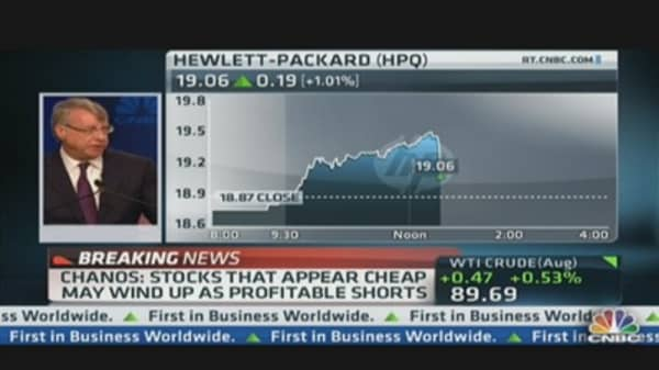 Chanos' Best Idea: Short Hewlett-Packard
