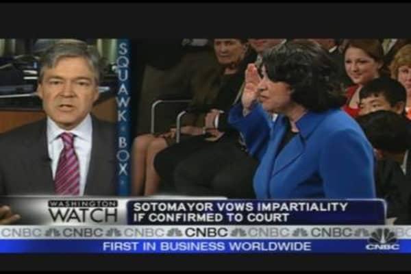 Sotomayor Confirmation Hearing Highlights