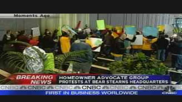 Homeowners Protest