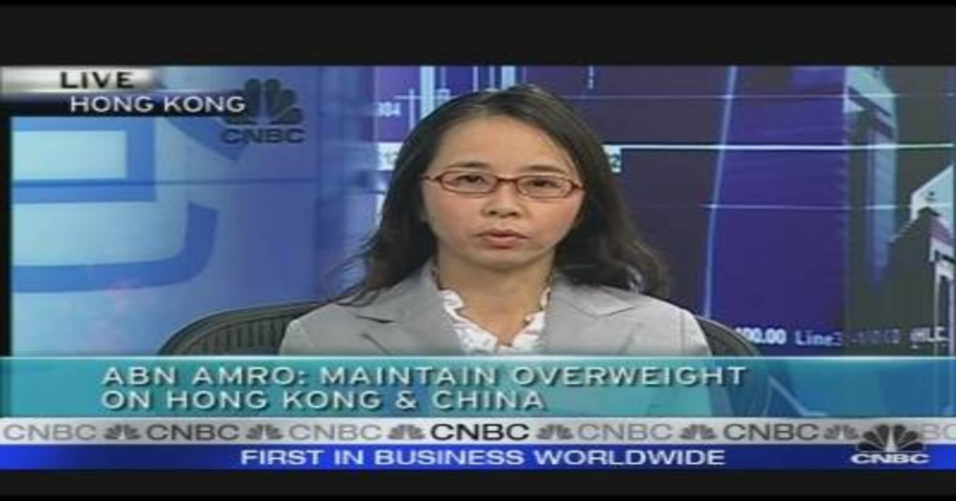 Overweight on HK & China