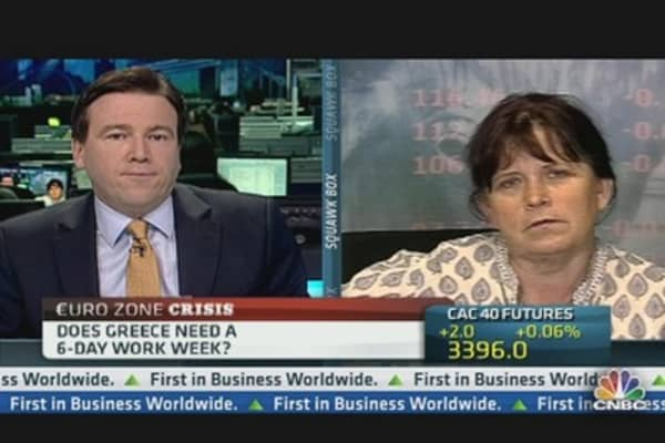 Does Greece Need a 6-Day Work Week?