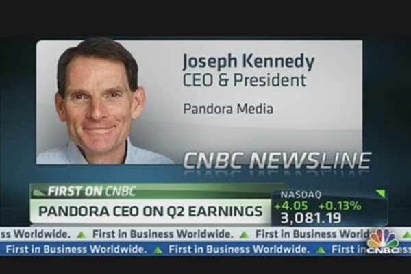 Pandora CEO on Strong Revenue & Mobile Growth