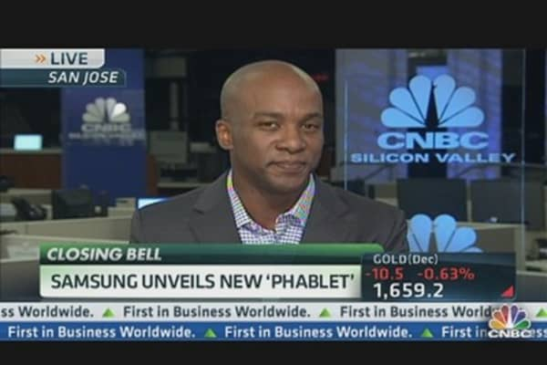 Samsung Pushes the Phablet
