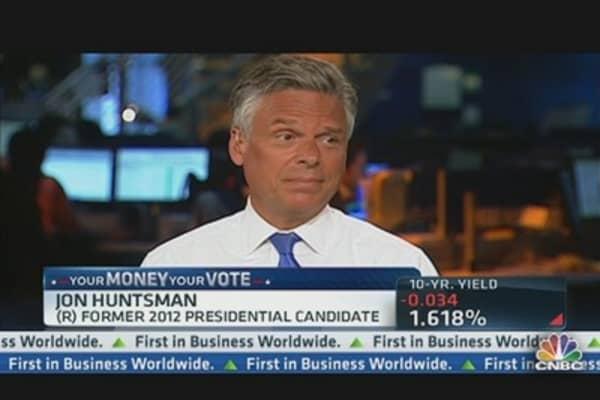 Huntsman: Fed Repair Shop for Broken Fiscal Policy