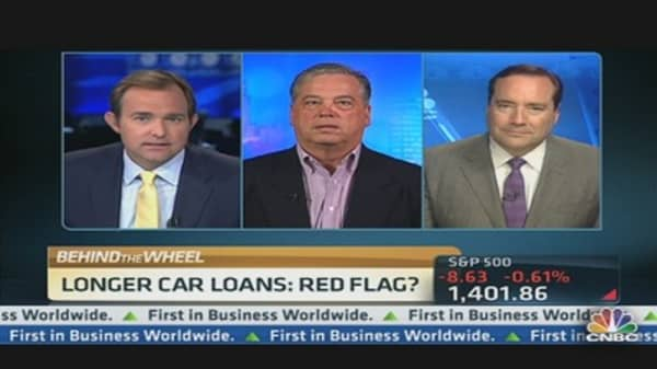 Car Loans: Red Flag?