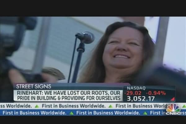 World's Richest Woman Said What?