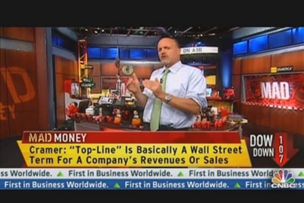 Cramer: How to Speak 'Wall Street'