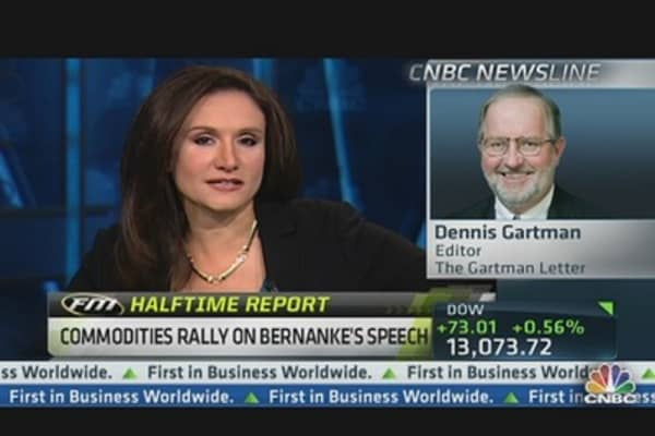 Dennis Gartman: Look for Gains in Gold, Brent