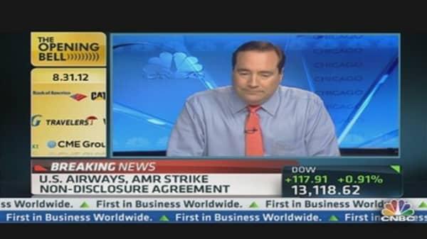 AMR, US Airways Strike Non-Disclosure Agreement