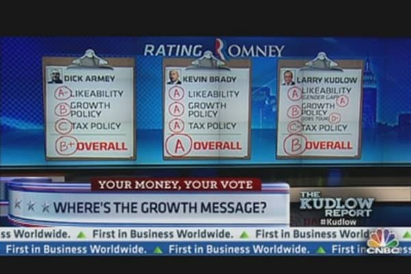 Mitt Romney: A Report Card
