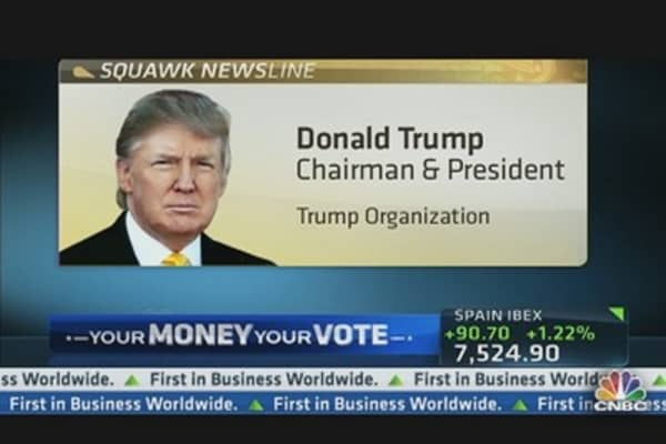 Trump: 'Great Time to Buy a House'
