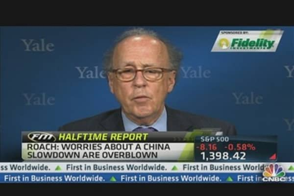 China Stimulus May Ease Slowdown: Roach