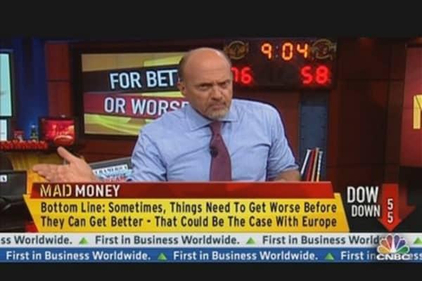 Don't Flee Market: Cramer