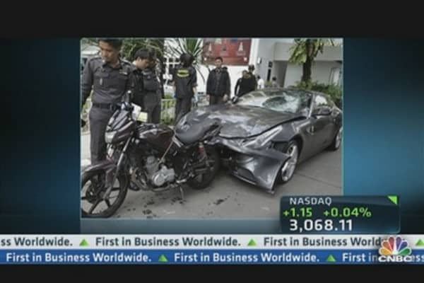 Why So Many Ferrari Crashes in China?