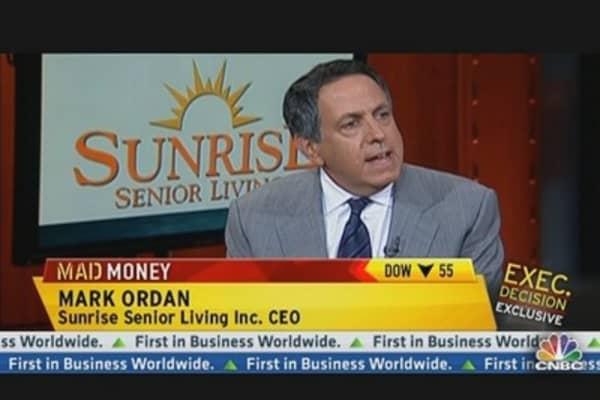 Sunrise Senior Living CEO On the $845 Deal