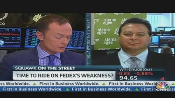 Time to Ride on FedEx's Weakness?