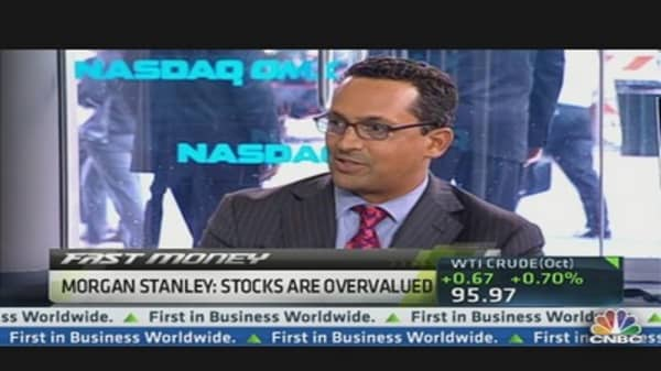 2013 Margin Levels 'A Problem': Morgan Stanley Analyst
