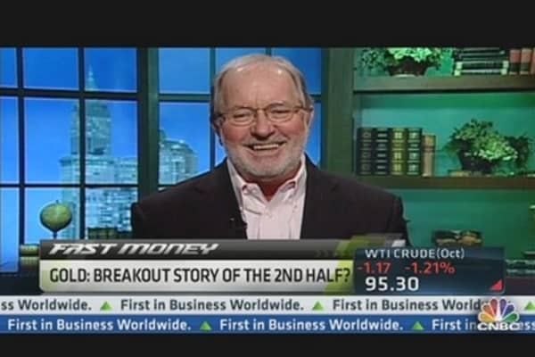 'Gold the Dominant Currency,' Gartman Says