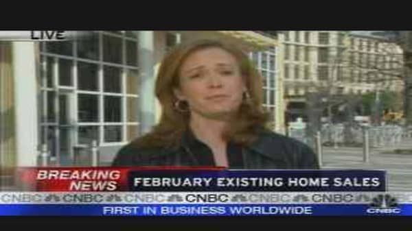 Feb. Existing Home Sales