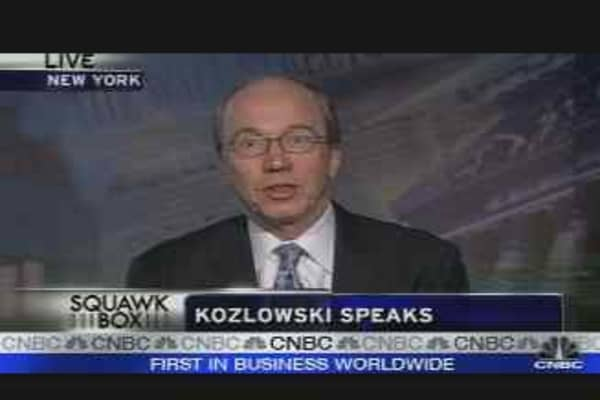 Raw Deal for Kozlowski?