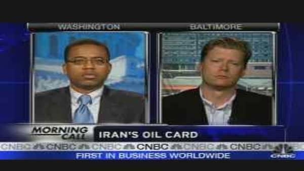 Iran's Oil Card