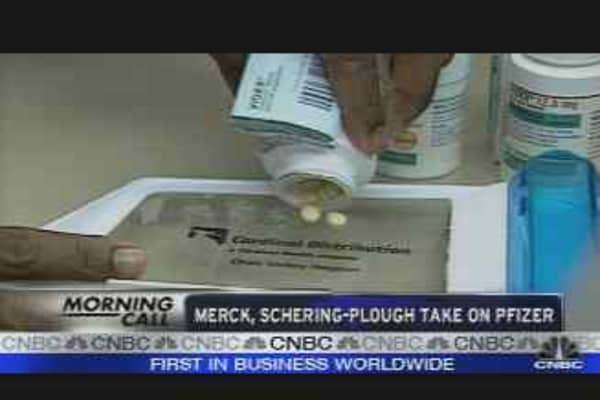 Merck, Schering-Plough Take on Pfizer