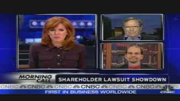 Shareholder Lawsuits