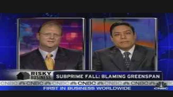 Blaming Greenspan