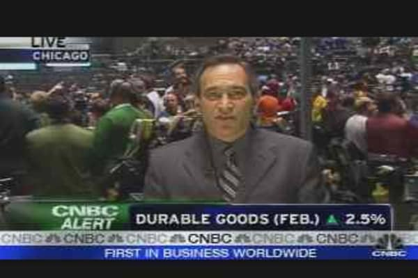 Durable Goods Up 2.5%