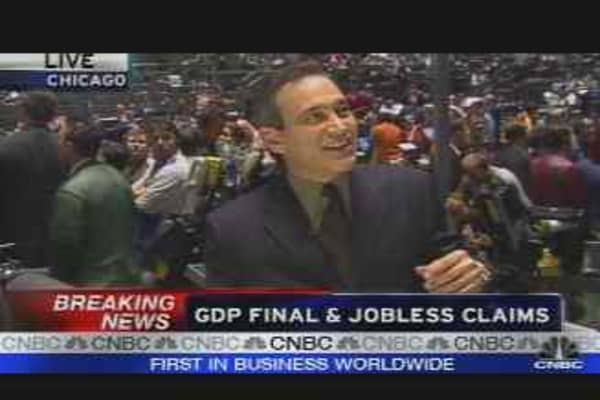 GDP Final & Jobless Claims