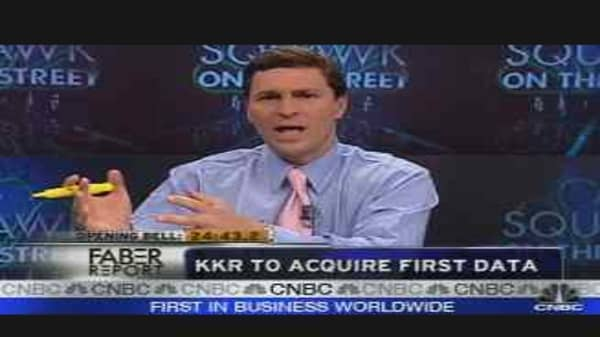 KKR to Acquire First Data