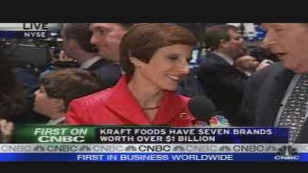 Kraft Rings Opening Bell