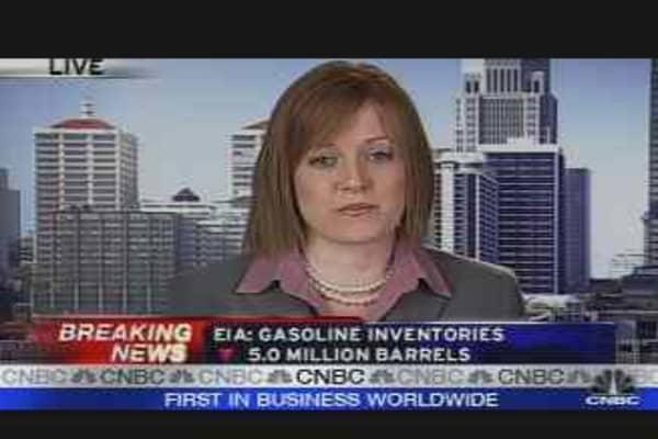 EIA Data: Oil & Gasoline