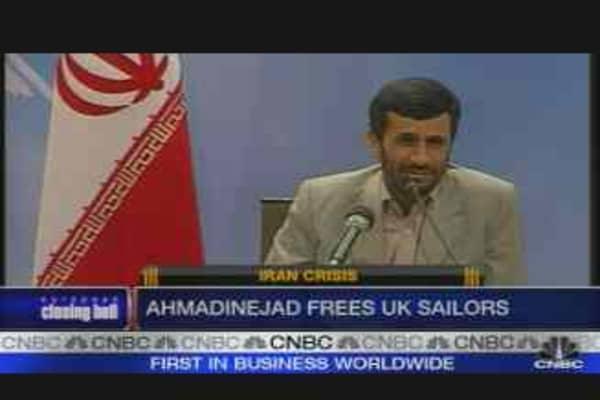 Iran Releases British Soldiers