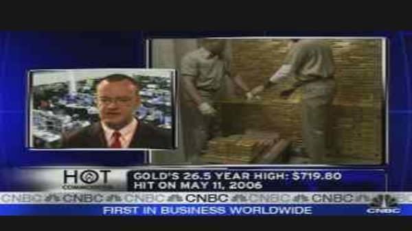 Gold Higher?